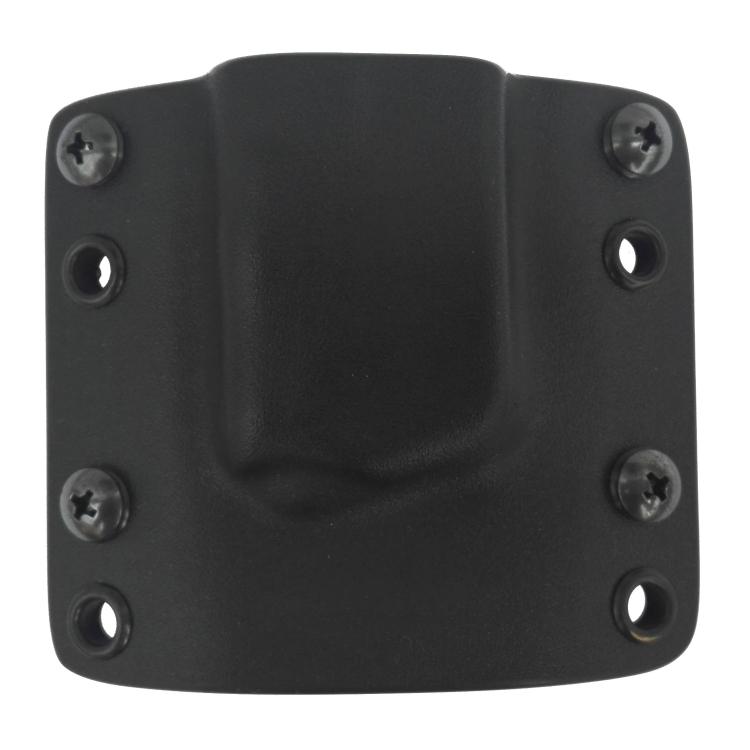 Kydex pouzdro na zásobník Glock 43, bez swtg., pravé, černé, RH Holsters
