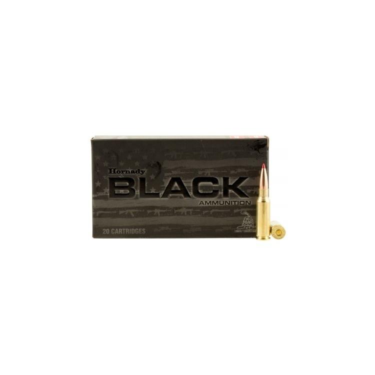 Náboj kulový Hornady, 6,5 Grendel, Black Line 123grs ELD Match 20ks
