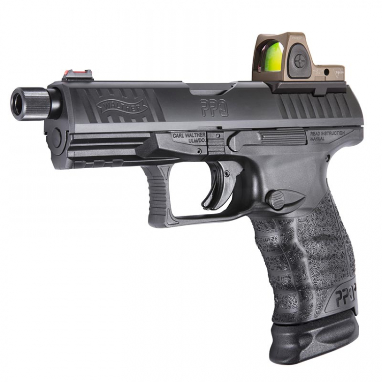 Pistole Walther PPQ M2 Q4 TAC, 9mm Luger