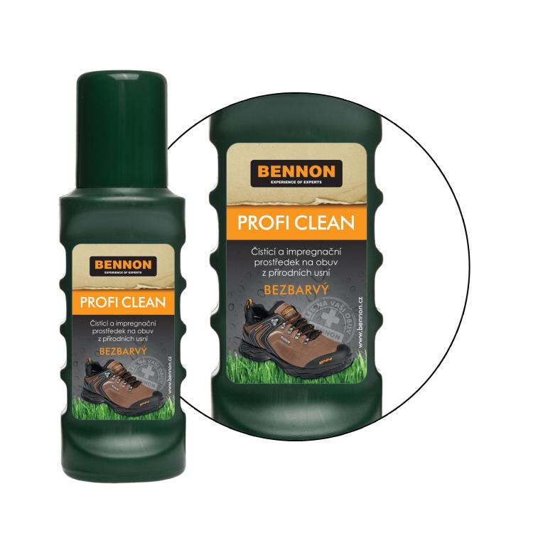 Přípravek na vyživení bot Bennon Profi CLEAN 75 ml - Přípravek na vyživení bot Bennon Profi CLEAN 75 ml