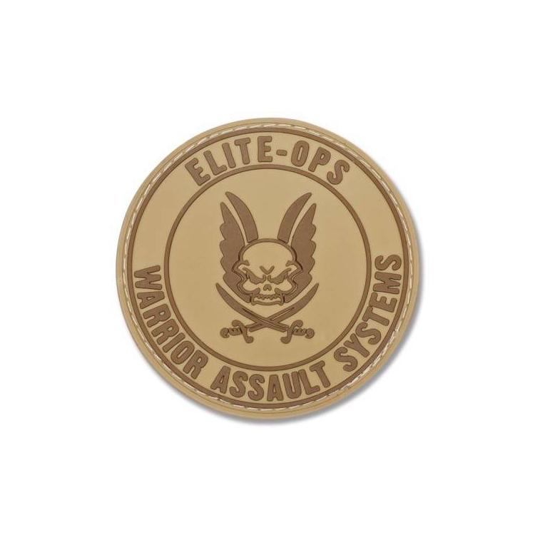 PVC nášivka Warrior Logo Shield