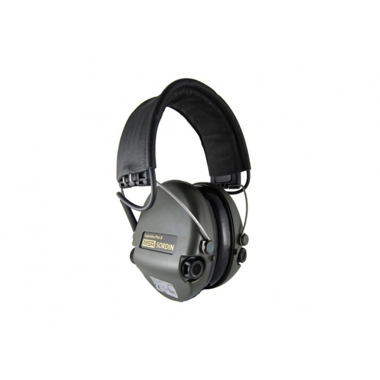 Elektronická sluchátka Supreme Pro-X, MSA Sordin