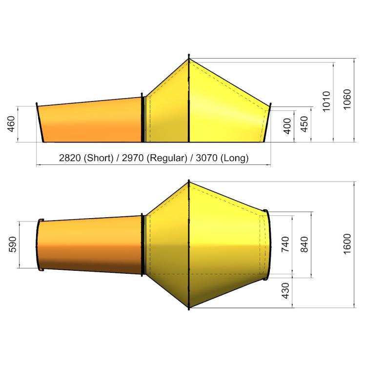 Expediční systém ALL-IN-ONE TENT, 1P, -30°C, Polarmond