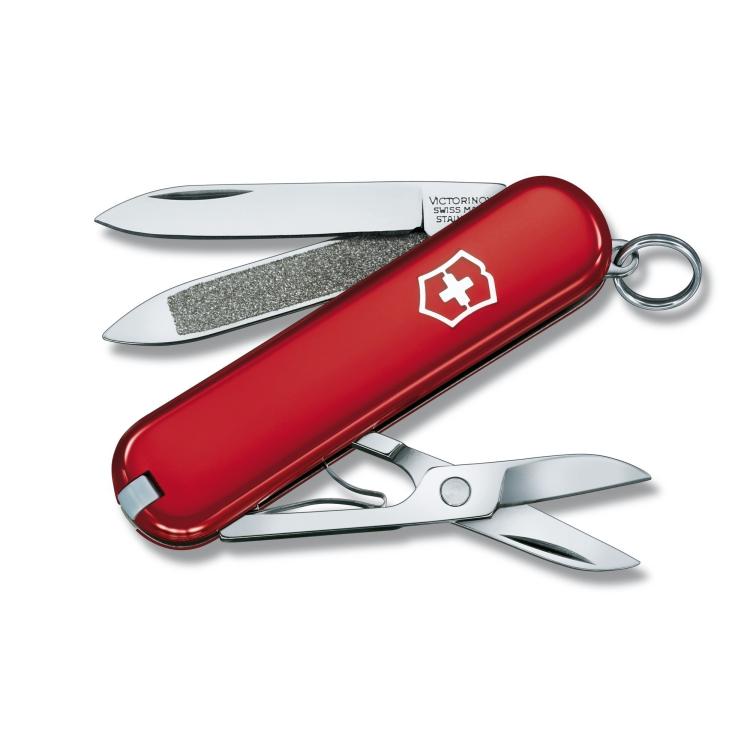 Švýcarský nůž Victorinox Classic, červený