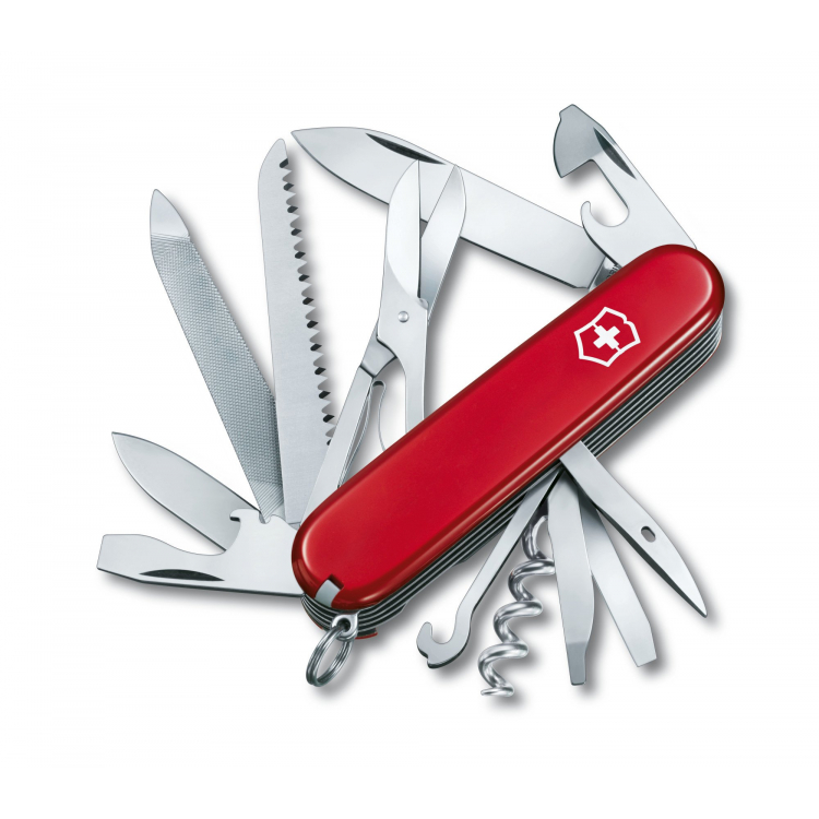 Švýcarský nůž Victorinox Ranger červený