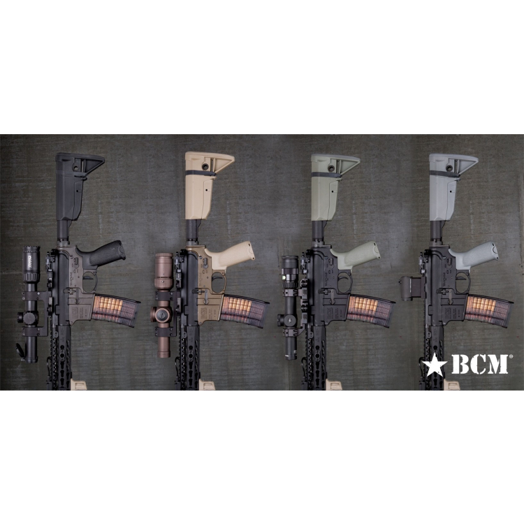 BCMGUNFIGHTER™ Stock Assembly - Mod 0 - Black