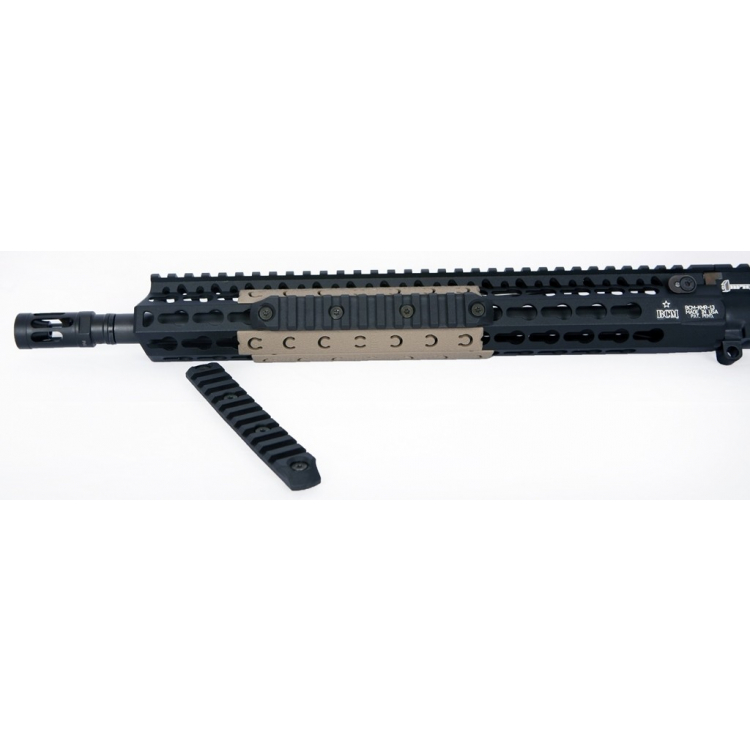 BCMGUNFIGHTER™ KeyMod Nylon Rail, 14 cm, černý