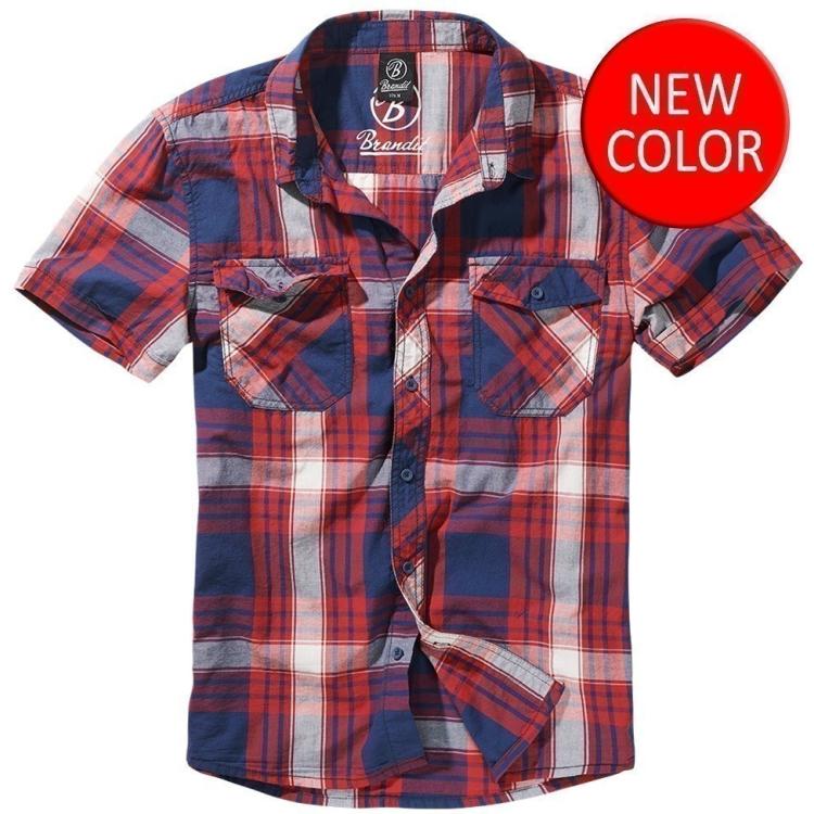 Košile Roadstar, krátký rukáv, Brandit - Košile Brandit Roadstar, s krátkým rukávem