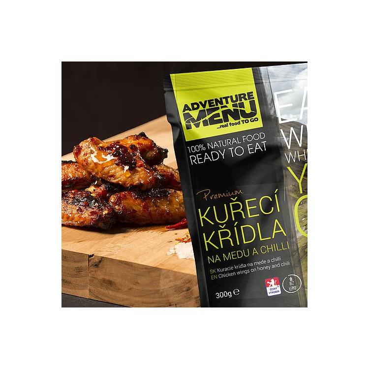 Kuřecí křídla na medu a chilli, Adventure Menu - Kuřecí křídla na medu a chilli, Adventure Menu