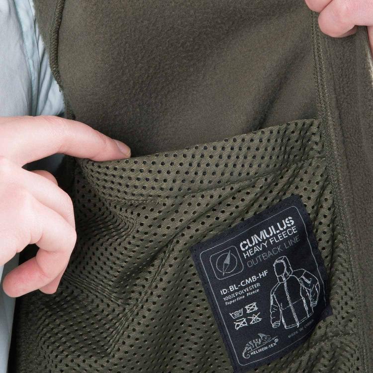 Fleecová bunda Cumulus Heavy Fleece, Helikon - Fleecová bunda Helikon Cumulus Heavy Fleece