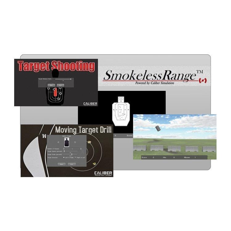 Laserová střelnice LA Smokeless Range 2.0, Laser Ammo
