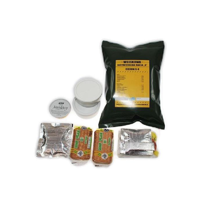 Vojenská potravinová dávka MRE,  S - studená, Arpol - Vojenská potravinová dávka MRE, ARPOL S - studená