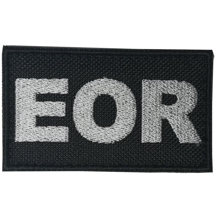Nášivka EOR, černý podklad, ARMED PATCHES
