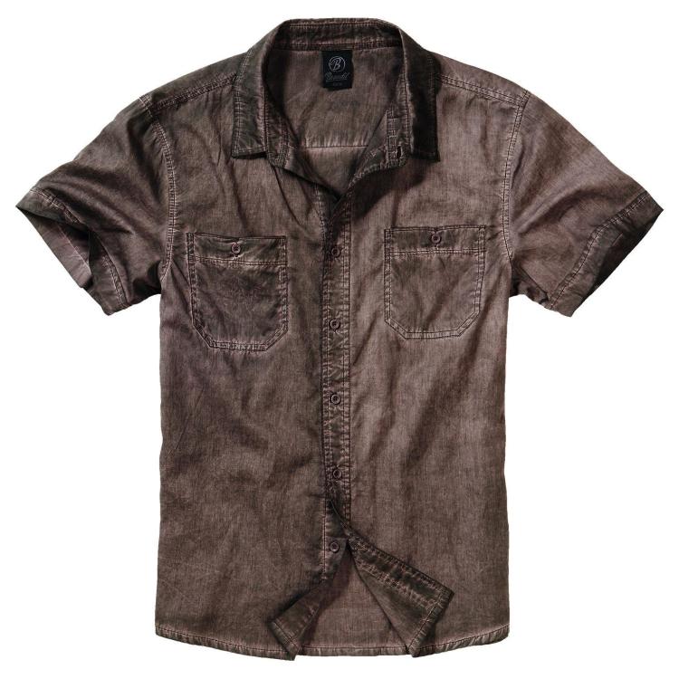 Košile Roadstar Shirt Heavy Washed, Brandit