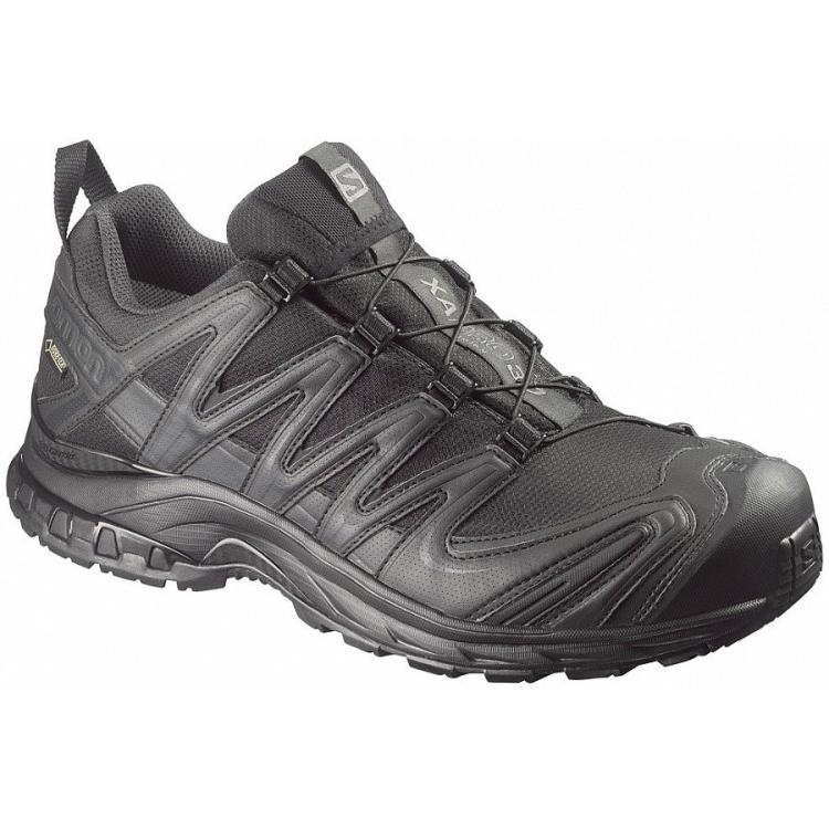 Kotníkové boty Salomon XA PRO 3D GTX FORCES, černé