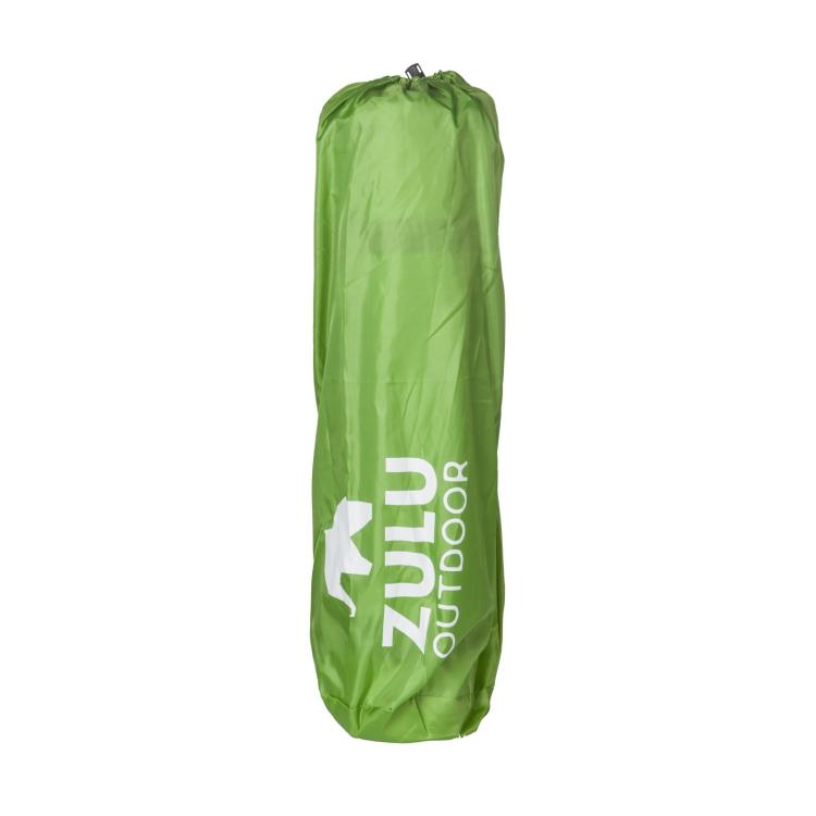 Samonafukovací karimatka Zulu Ceza Double, zelená