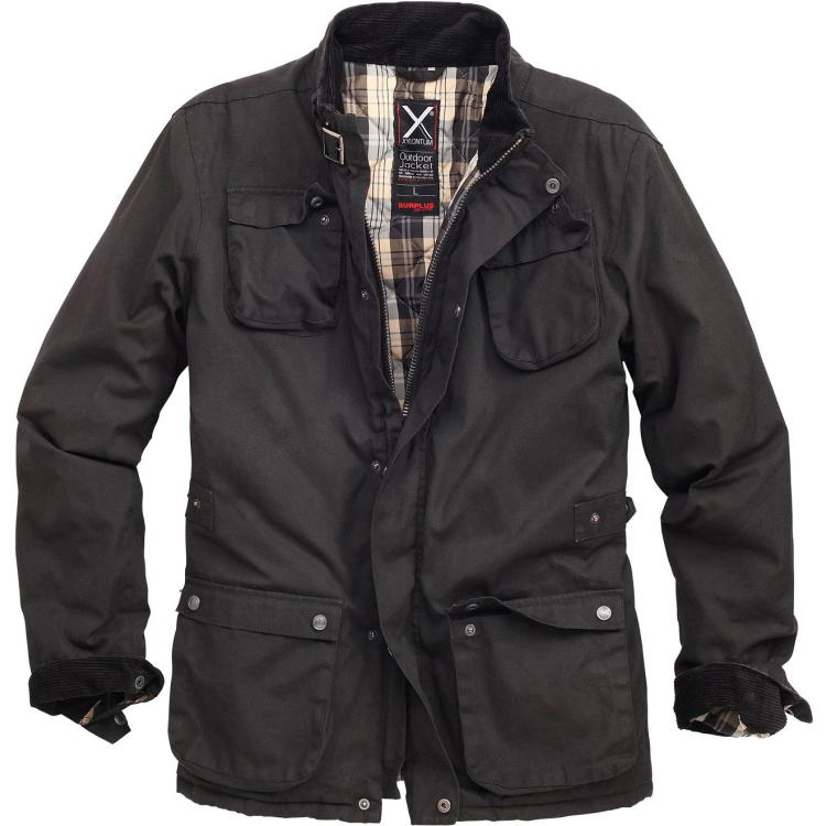 Podzimní bunda Xylontum Outdoor, černá, Surplus