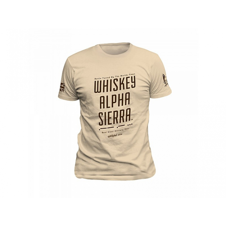 Triko Whiskey Alpha Sierra, Warrior - Warrior Whiskey Alpha Sierra triko