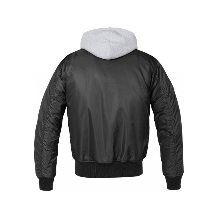 Pánská zimní bunda MA1 Sweat Hooded, Brandit