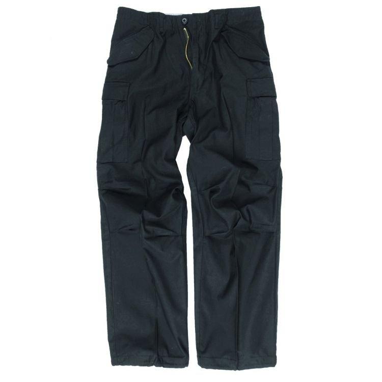 Kalhoty M65 Teesar, černé, Mil-Tec