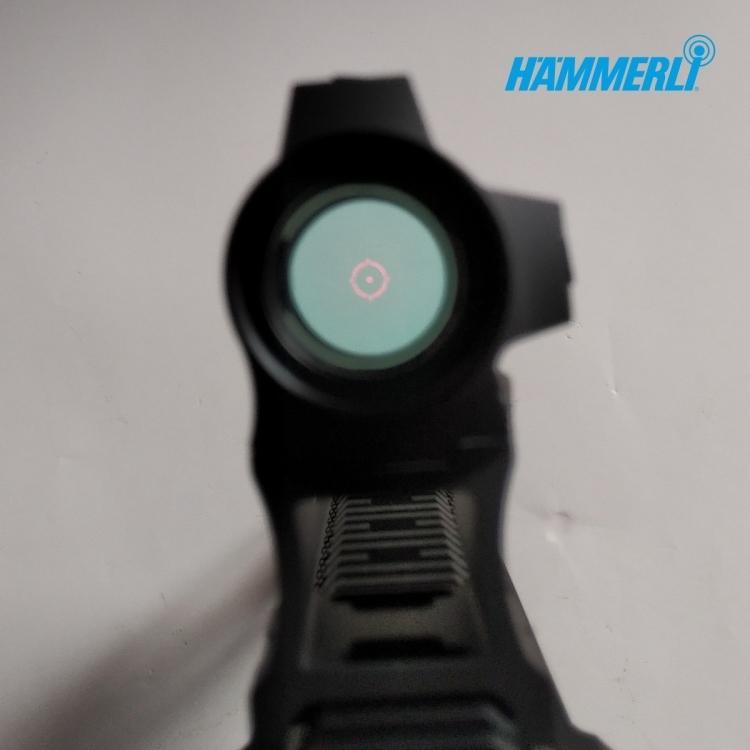 Samonabíjecí malorážka Hämmerli TAC R1 INT 22LR HV + kolimátor HS503CU, černá, 10 nábojů