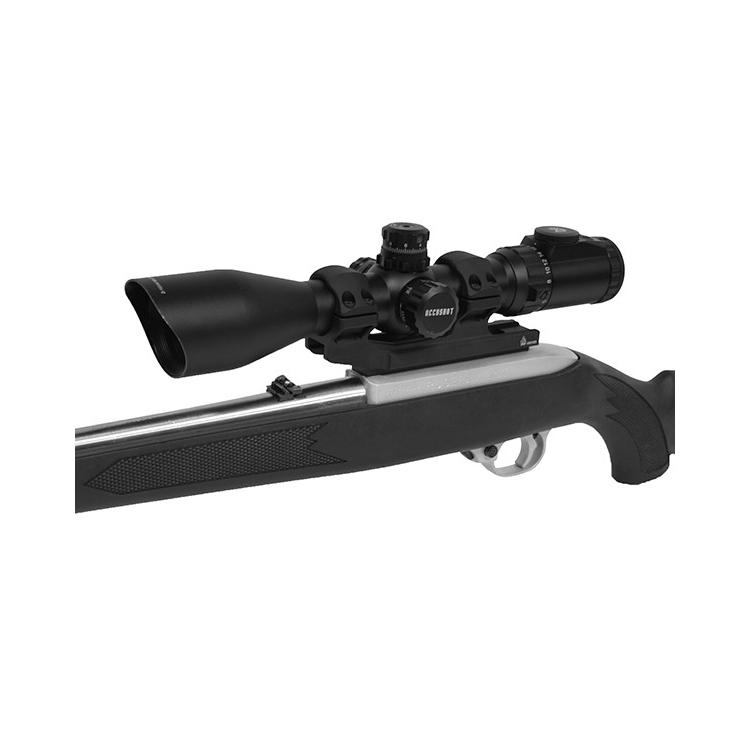 Montáž UTG ACCU-SYNC na puškohled 30 mm, předsunutá 50 mm