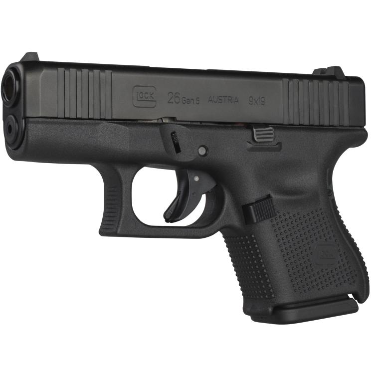 Pistole Glock 26, 9 mm Luger, černá