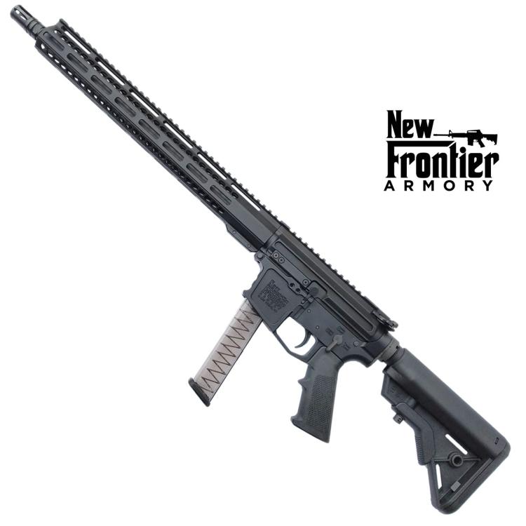 "Puška samonabíjecí AR-9, New Frontier Armory PC9, hlaveň 16"", pažba B5 systems"