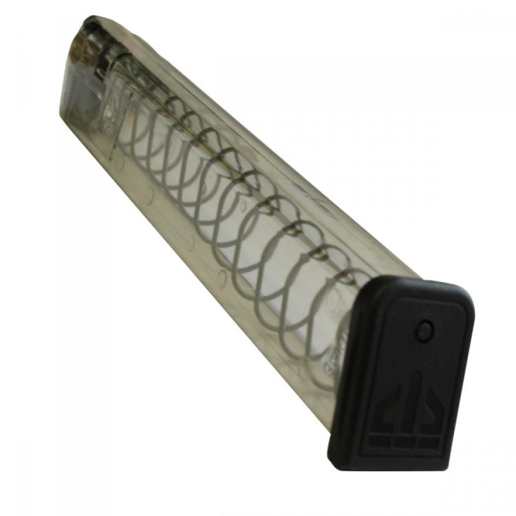 Zásobník ETS, Glock 18 a menší, 9 mm Luger, 31 nábojů