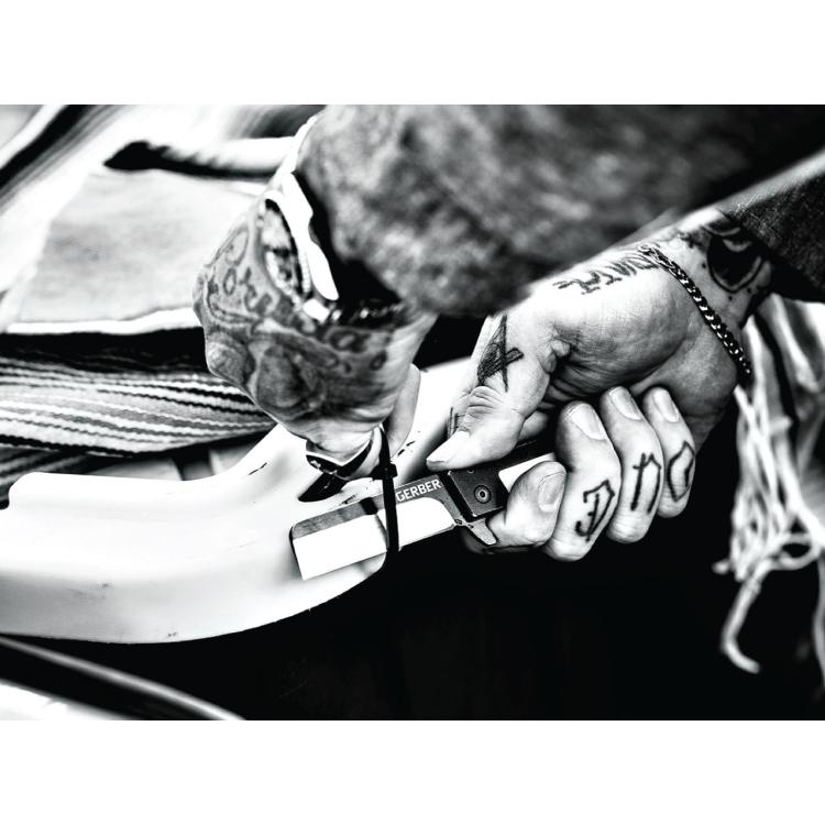 Zavírací nůž Gerber Quadrant Modern Folding, bambusová rukojeť