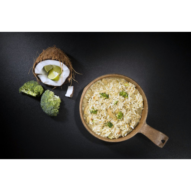 Dehydrované jídlo - ryba na kari s rýží, Tactical Foodpack