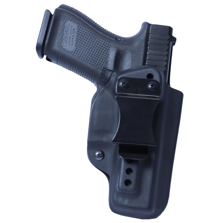 Kydex vnitřní pouzdro RH Holsters, Glock 19, pravé, plný sweatguard, černé