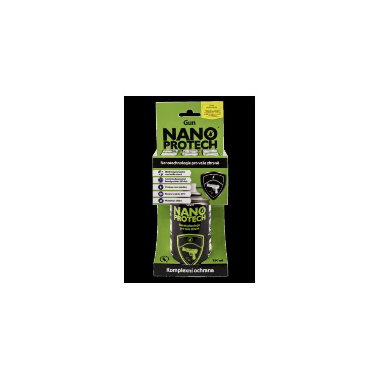 Čistící, mazací a antikorozní sprej Nanoprotech Gun, 150 ml