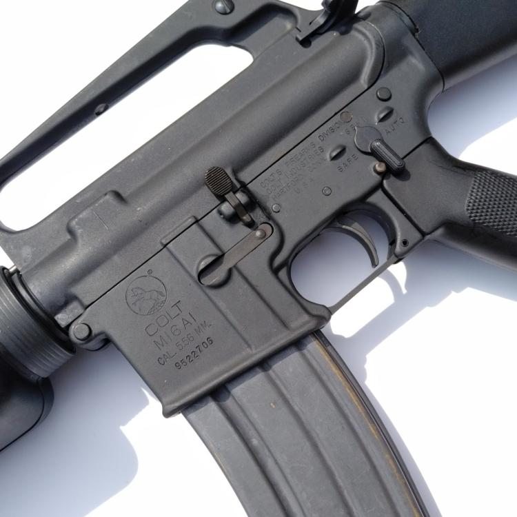 Colt M16A1, ráže .223 Rem, puška samonabíjecí, použitá