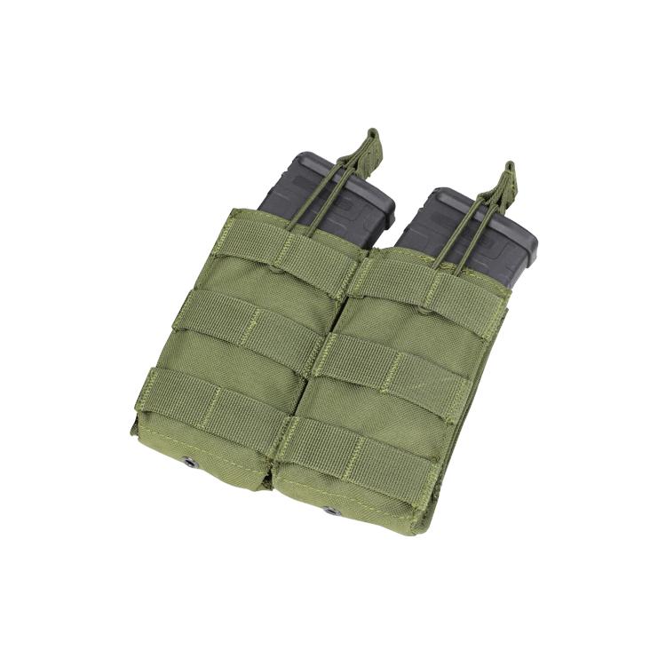 MOLLE sumka na 2 zásobníky M4/M16 - otevřená