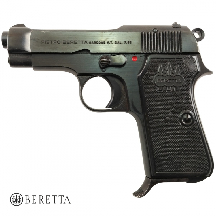 Beretta 35, ráže 7,65 Browning, hlaveň 80 mm, pistole samonabíjecí, použitá - Beretta 35, ráže 7,65 Browning, hlaveň 80 mm, pistole samonabíjecí, použitá