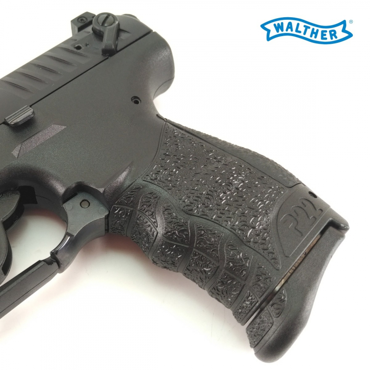 Walther P22QD 22LR, pistole samonabíjecí, černá - Walther P22QD 22LR, pistole samonabíjecí, černá