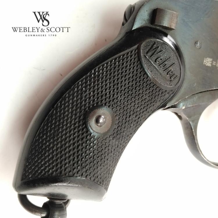 Webley & Scott Mark IV .38 S&W, revolver použitý - Webley & Scott Mark IV .38 S&W, revolver použitý