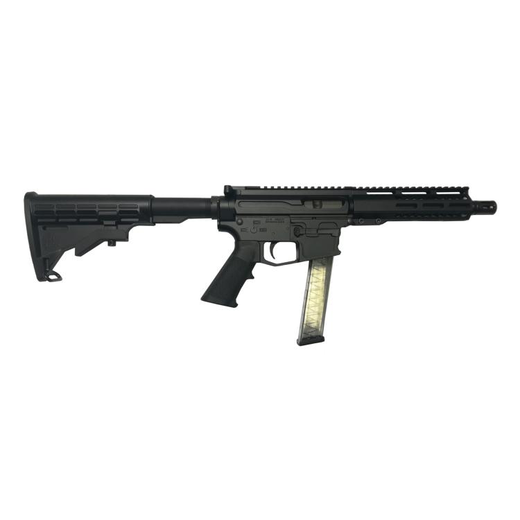 "Puška samonabíjecí AR-9, New Frontier Armory PC9, hlaveň 8"", pažba AR-15"