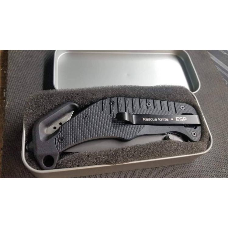 Zavírací záchranářský nůž, ESP