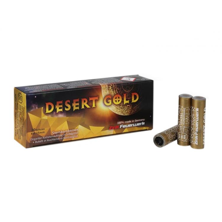 Pyro světlice Zink 527 Desert Gold, 20 ks, Zink-Feuerwerk