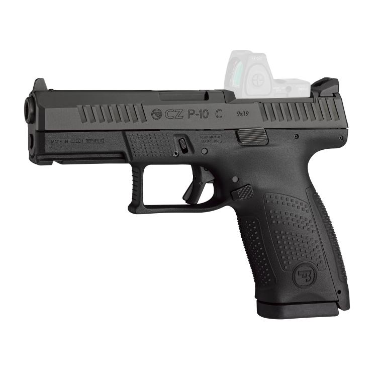 Pistole CZ P-10 C OR, 9 mm Luger, CZUB