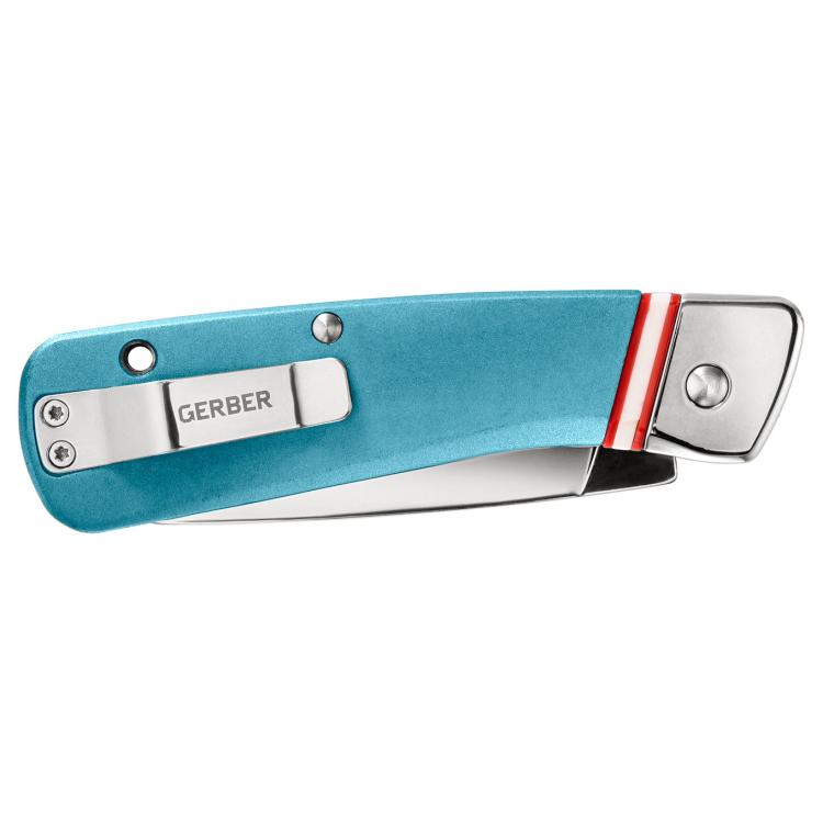 Zavírací nůž Gerber Straightlace Modern Folding, hladké ostří
