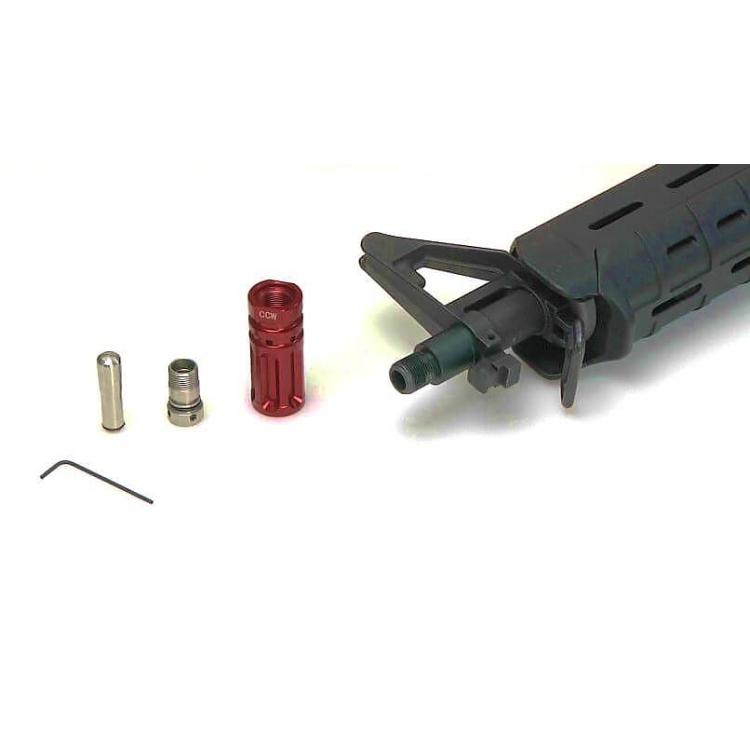 Set Flash adaptéru a vibrační Surestrike Cartridge, červený laser, Laser Ammo