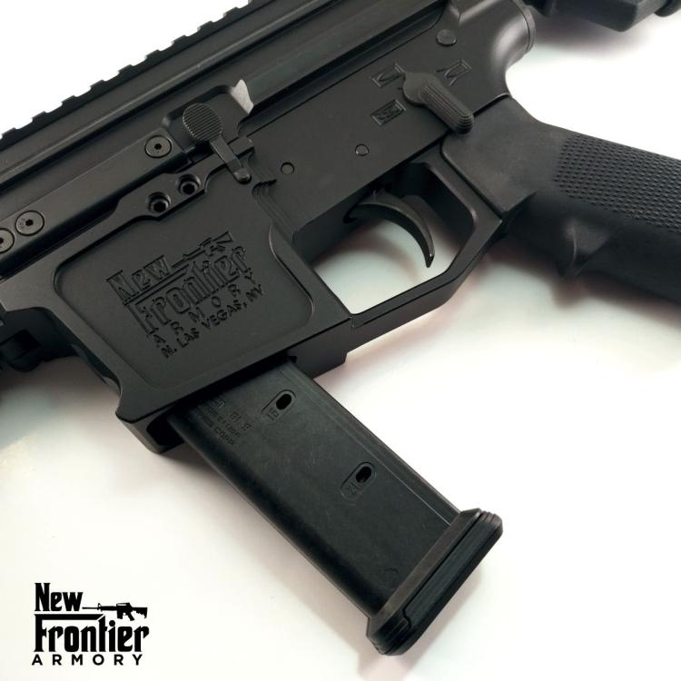 "Puška samonabíjecí AR9 PC9, hlaveň 12,5"", New Frontier Armory"