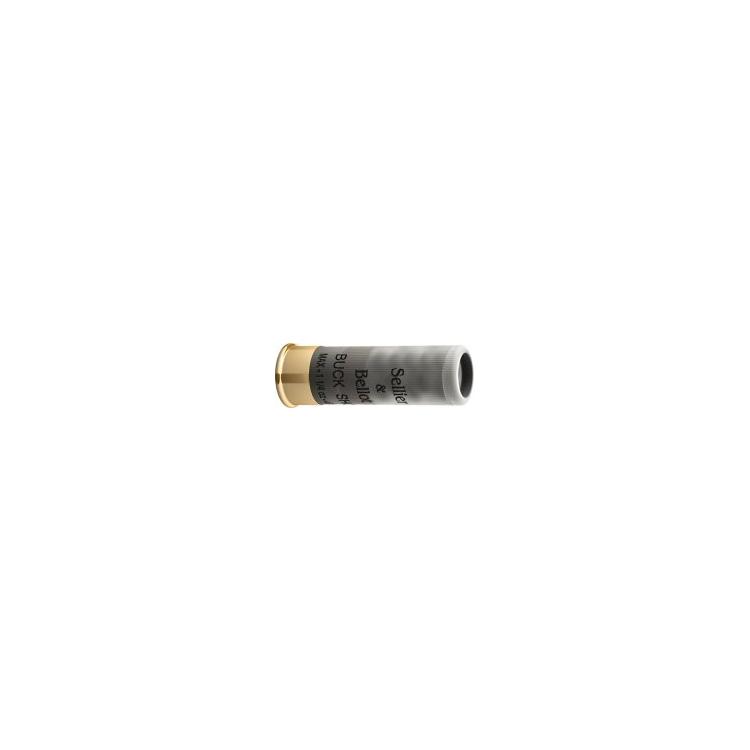 Brokové náboje 12/76 Magnum, Buckshot 7,62 mm, 53 g, Sellier&Bellot 10ks