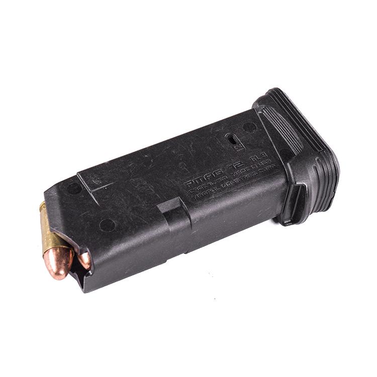 Zásobník PMAG GL9, 12 nábojů, GLOCK 26 (9x19), černý, Magpul