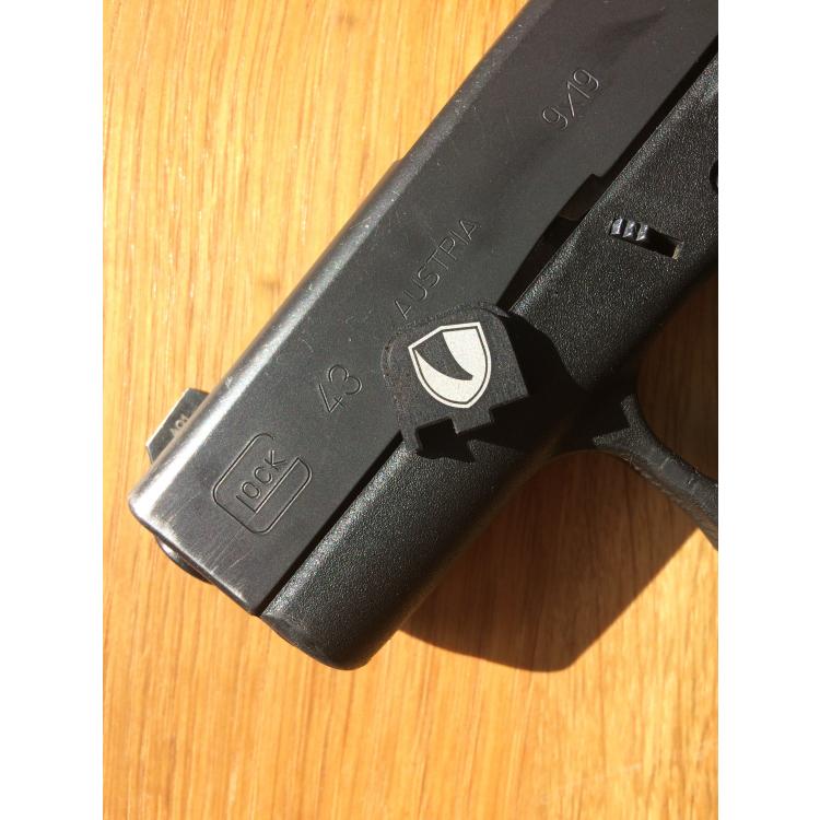 Čelo pro pistoli Glock 43/43X, LEX