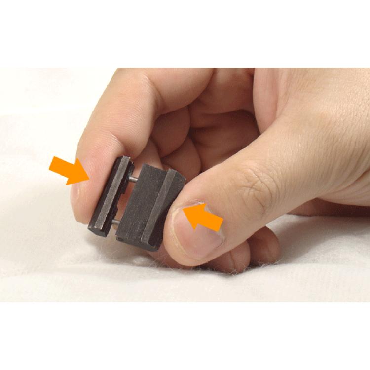 Picatinny adaptér na rybinu, černý, UTG