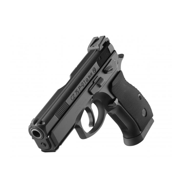 Samonabíjecí pistole CZ 75 P-01, decocking+manual safety, 9 mm Luger, CZUB